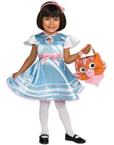 Costume dora l 39 exploratrice princesse des neiges pour fille livraison 24h funidelia - Dora princesse des neiges ...