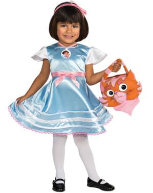 Dora the Explorer in Wonderland costume for a girl