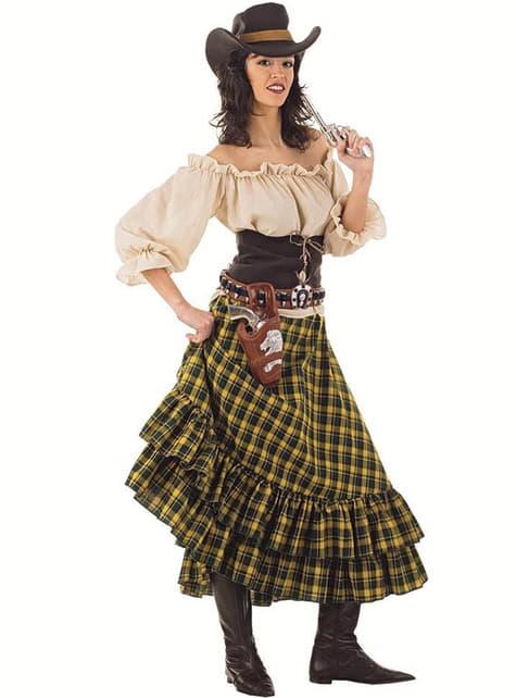 Kostým Cowgirl Bandit pre dospelých