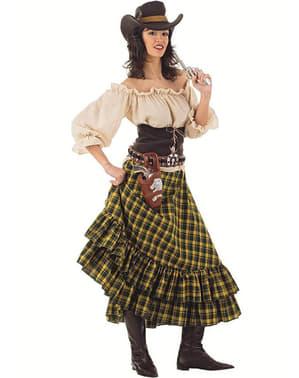 Banditen Cowgirl Kostüm