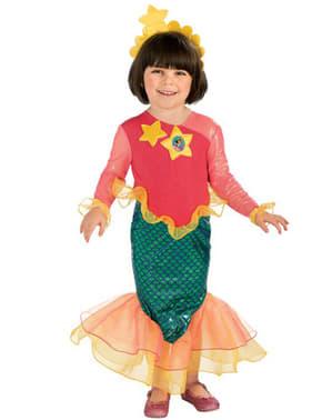 Dora az Explorer mermaid jelmez egy lánynak