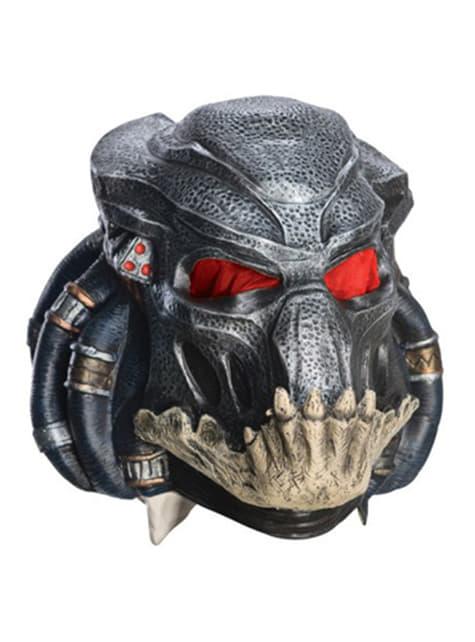 Máscara Predators de vinilo para adulto