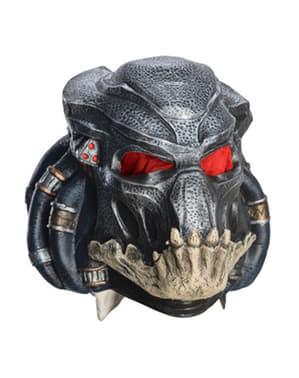 Predator vinyl maske til voksne