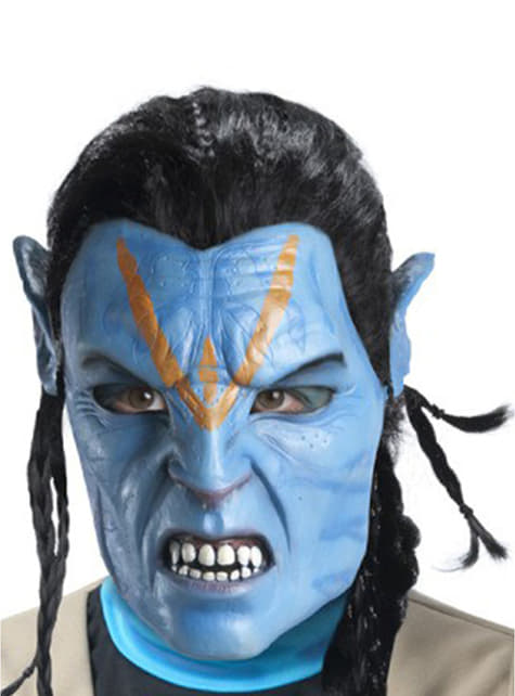 Masque Jake Sully Avatar en latex pour adulte