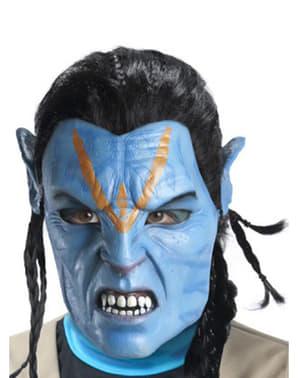 Maschera di Jake Sully Avatar in lattice per adulto