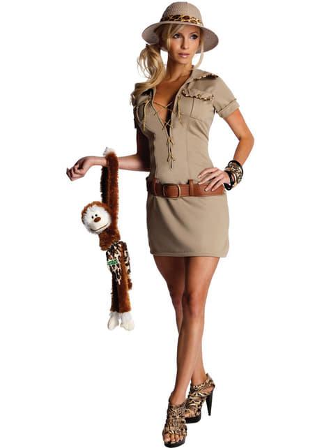 Jane Jägerin Kostüm für Damen Tarzan