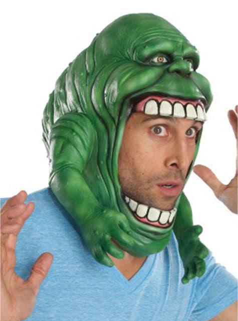 Slimer mask for an adult