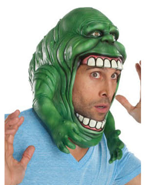 Slimer mask for an adult