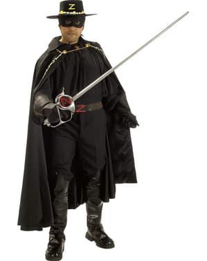 Kostium Zorro Grand Heritage dla dorosłych