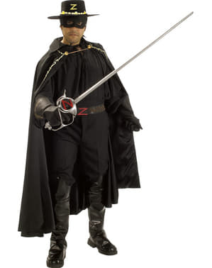 Zorro Grand Heritage costume for an adult