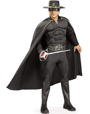 Zorro deluxe kostuum voor volwassenen