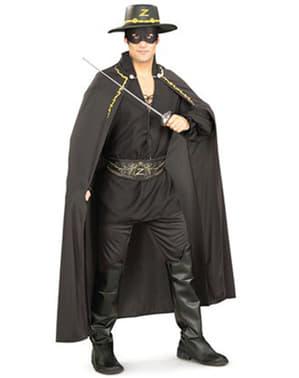 Kit fato de Zorro para adulto