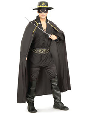 Zorro kostyme til voksen