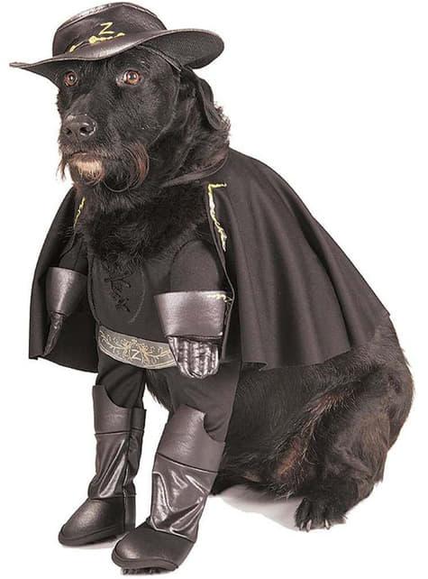 Fato de Zorro para cão