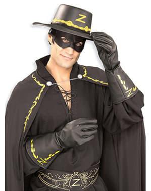 Rękawiczki Zorro dla dorosłych