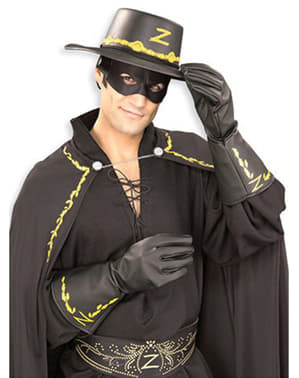 Zorro gloves for an adult