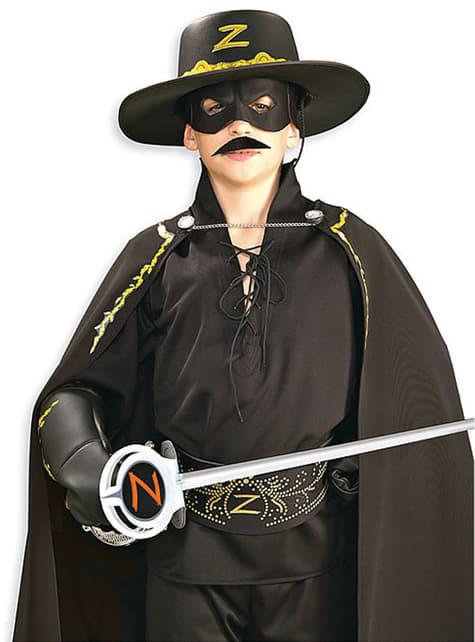 Wąsy Zorro przyklejane