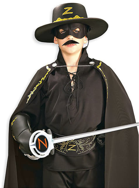Zorro false moustache