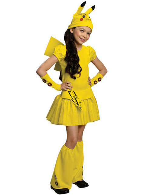 Pikachu Pokemon kostuum voor meisjes