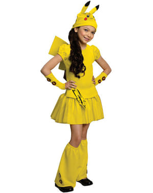 Pikachu costume for a girl