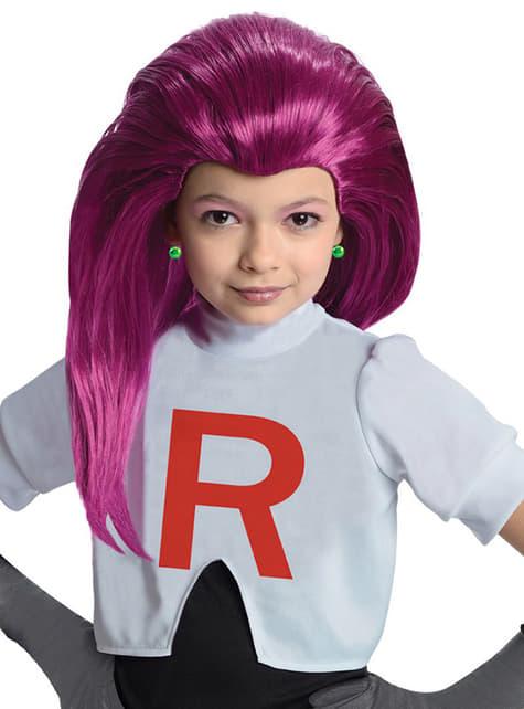 Peruca de Jessie Team Rocket para menina