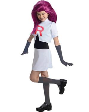 Jessie Kostüm für Mädchen Team Rocket