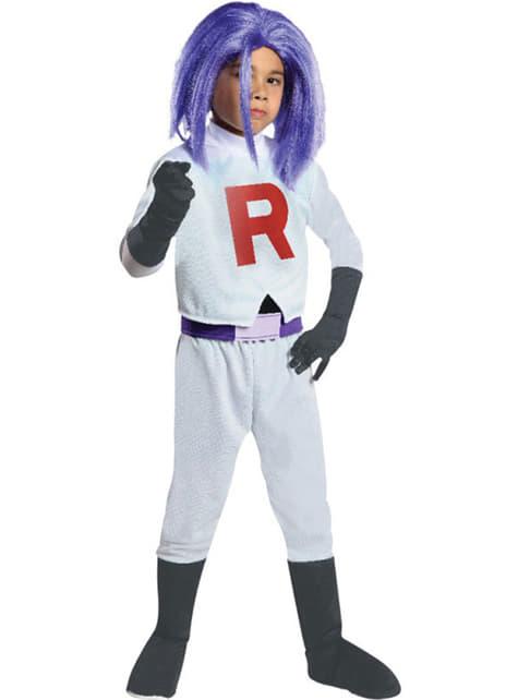James Team Rocket costume for a boy