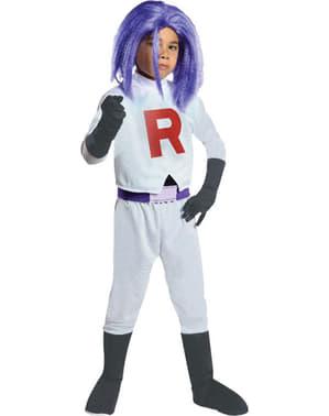 Costume da James Team Rocket per bambino