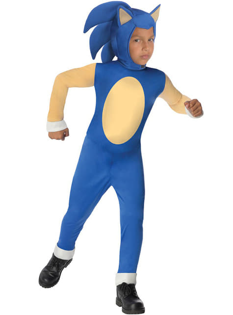 Sonic costume for a boy