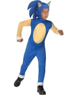 Costum Sonic pentru băiat