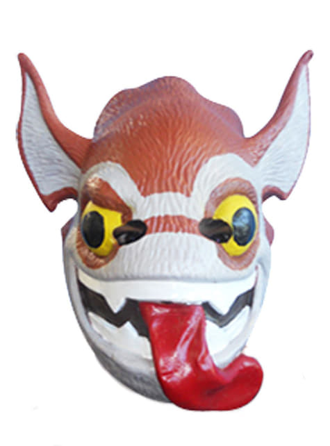 Trigger Happy Maske für Kinder aus Vinyl Skylanders Giants