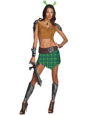Fiona Kriegerin Kostüm für Damen Für immer Shrek