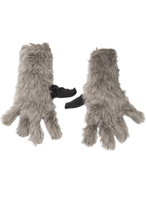 Rocket Racoon Guardians of the Galaxy gloves for Kids