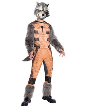 Disfraz de Rocket Raccoon Guardianes de la Galaxia supreme para niño