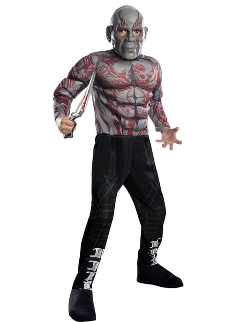 Drax the Destroyer Guardians of the Galaxy Kostyme for Barn