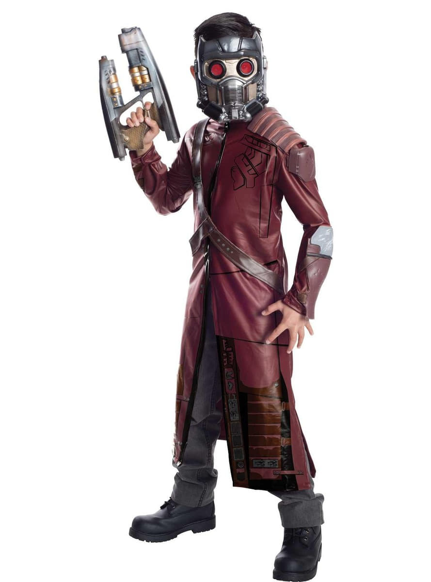 star lord kost m f r kinder deluxe guardians of the galaxy. Black Bedroom Furniture Sets. Home Design Ideas
