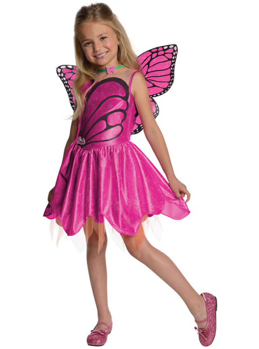 Detalle Zoom  sc 1 st  Funidelia & Barbie Butterfly costume for a girl. The coolest | Funidelia