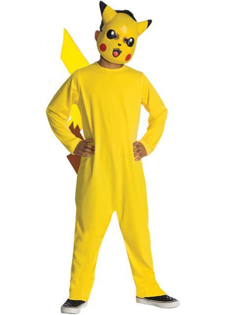 Pikachu costume for a boy