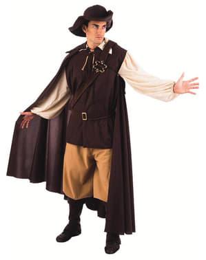Fato de aventureiro medieval