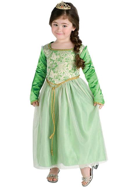 Kostium Fiona Shrek III dla dziewczynki