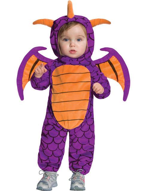 Spyro kostume Skylanders Giants til babyer