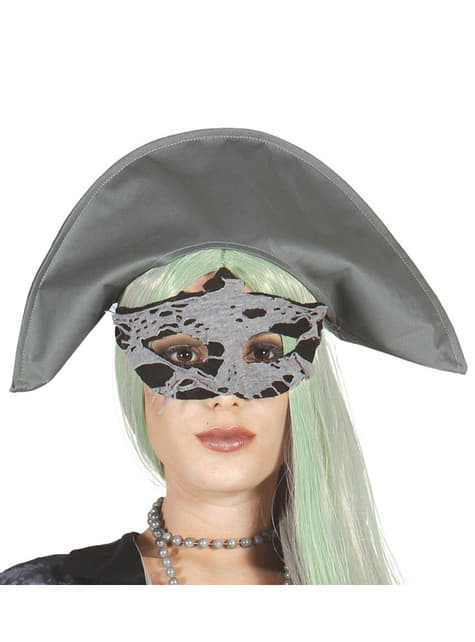 Antifaz de Pirata Zombie
