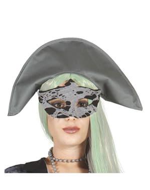 Piraten oogmasker Zombie