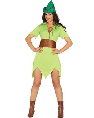 Bogenschützin Robin Kostüm für Damen