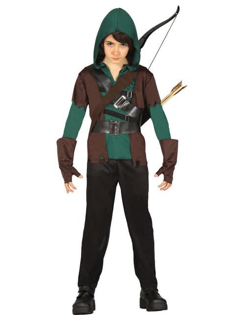 Déguisement Archer du bois enfant