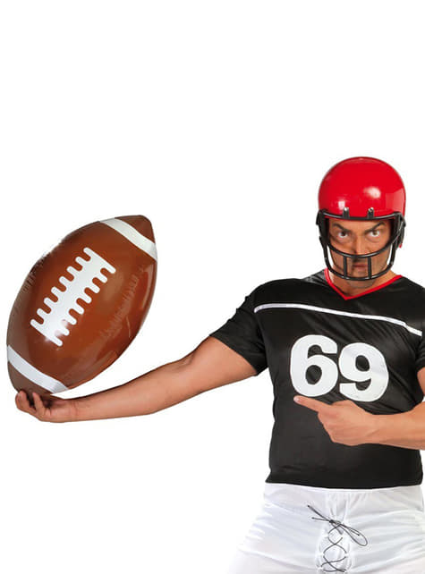 Ballon gonflable football américain