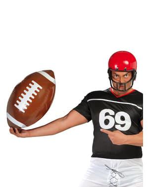 Aufblasbarer amerikanscher Football