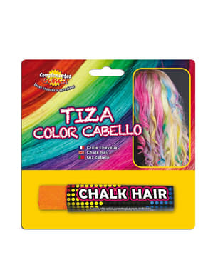 Orange Chalk for Colouring Hair