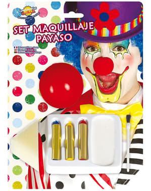 Zestaw Make up Klaun
