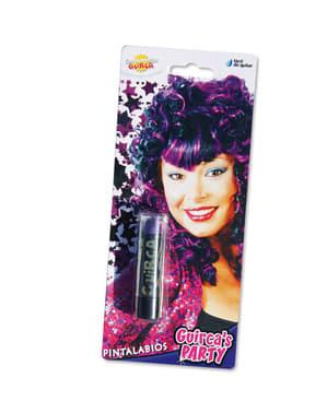 Фіолетовий помада макіяж